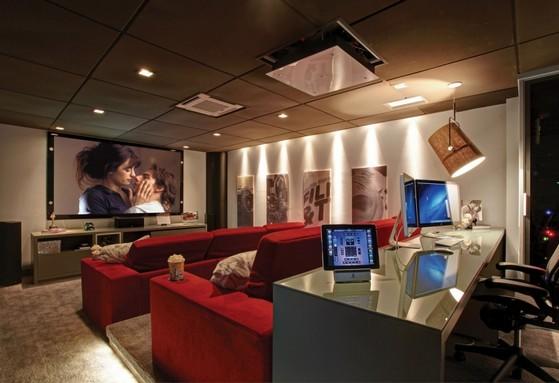 Sala De Cinema Residencial Com Projetor Indaiatuba Sala De Cinema Residencial De Alto Padrao Hi Teck