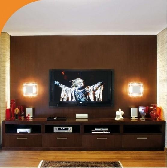 Sala de Tv Planejada Orçar Artur Nogueira - Sala para Tv Planejada