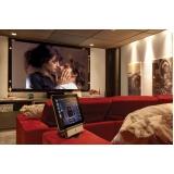 empresa para home theater para sala de cinema Pedreira