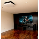 home theater de sala de cinema valor Valinhos