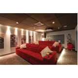 quanto custa home theater para sala de cinema Americana