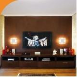 quanto custa sala de tv luxo planejada Rio Claro