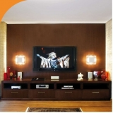 sala para tv planejada orçar Holambra