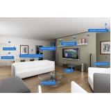 serviço de automação de som residencial Pedreira