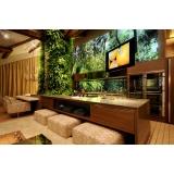 serviço de automação residencial som e imagem para sala planejada Santa Bárbara d´Oeste