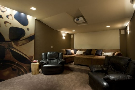 Imagens de Sala com Automação de Som