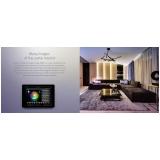 iluminação de sala de estar preço Morungaba