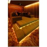 iluminação para sala de tv planejada preço Jacutinga