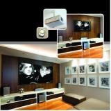 orçamento de sala de tv luxo planejada Engenheiro Coelho